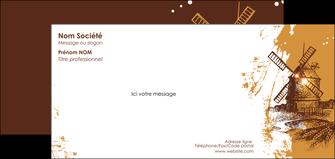 modele en ligne carte de correspondance boulangerie boulangerie boulange boulanger MIF25388