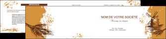 imprimerie depliant 2 volets  4 pages  boulangerie boulangerie boulange boulanger MIF25402