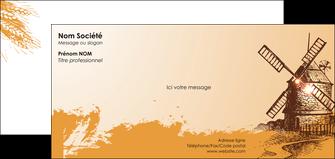 modele en ligne carte de correspondance bar et cafe et pub boulangerie boulange boulanger MLIG25420