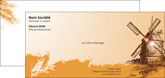 modele en ligne carte de correspondance bar et cafe et pub boulangerie boulange boulanger MIF25420