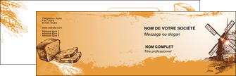 realiser carte de visite bar et cafe et pub boulangerie boulange boulanger MIF25424