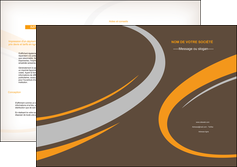modele depliant 2 volets  4 pages  texture contexture structure MLGI25458