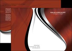 faire modele a imprimer depliant 2 volets  4 pages  textures contextures structures MLGI25466