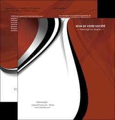 faire depliant 2 volets  4 pages  textures contextures structures MLGI25468