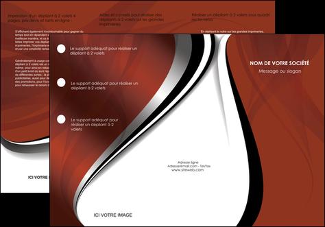 imprimerie depliant 3 volets  6 pages  textures contextures structures MLGI25474