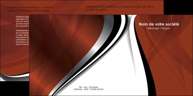 personnaliser modele de depliant 2 volets  4 pages  textures contextures structures MLGI25482
