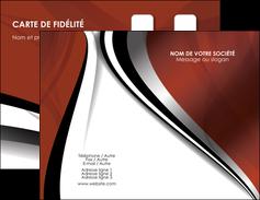 Impression vernis selectif carte de visite  Carte commerciale de fidélité devis d'imprimeur publicitaire professionnel Carte de visite Double - Portrait