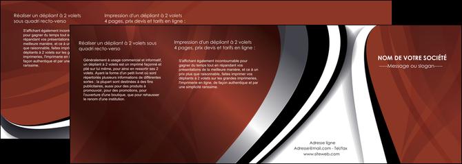 personnaliser maquette depliant 4 volets  8 pages  textures contextures structures MLGI25494