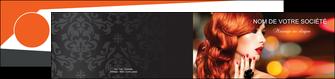 imprimerie depliant 2 volets  4 pages  centre esthetique  coiffure coiffeur coiffeuse MIF25508