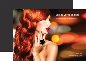 exemple flyers centre esthetique  coiffure coiffeur coiffeuse MLIGBE25510