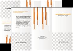 imprimer depliant 3 volets  6 pages  textures contextures structures MLGI25528