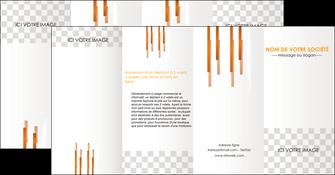 creer modele en ligne depliant 4 volets  8 pages  textures contextures structures MLGI25546