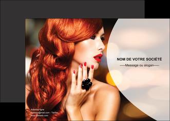 creer modele en ligne affiche centre esthetique  coiffure coiffeur coiffeuse MIF25556