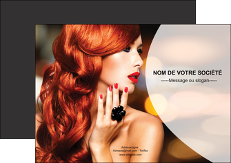 imprimer flyers centre esthetique  coiffure coiffeur coiffeuse MIF25564