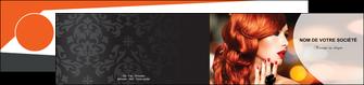 modele en ligne depliant 2 volets  4 pages  centre esthetique  coiffure coiffeur coiffeuse MIF25566