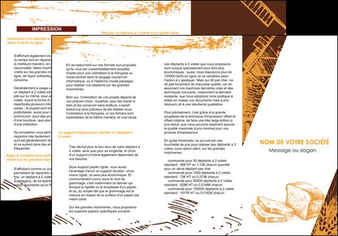 creer modele en ligne depliant 3 volets  6 pages  boulangerie boulangerie boulanger boulange MLGI25594