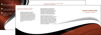 personnaliser modele de depliant 4 volets  8 pages  texture contexture structure MLIG25612