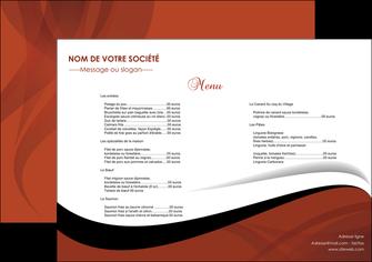 Commander Set de table  Menu modèle graphique pour devis d'imprimeur Set de Table A3 - Paysage (42 x 29,7 cm)