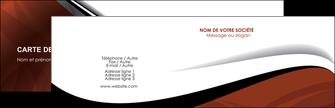Commander Carte de fidélité  Carte commerciale de fidélité modèle graphique pour devis d'imprimeur Carte de visite Double - Paysage
