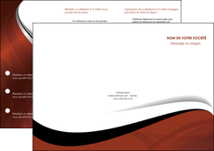 personnaliser modele de depliant 3 volets  6 pages  texture contexture structure MLGI25624