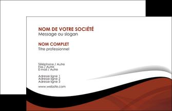 Commander Carte de visite  papier publicitaire et imprimerie Carte de Visite - Paysage