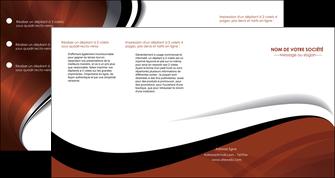 faire modele a imprimer depliant 4 volets  8 pages  texture contexture structure MIF25642