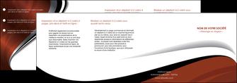 faire modele a imprimer depliant 4 volets  8 pages  texture contexture structure MLGI25644