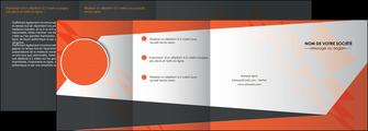 personnaliser modele de depliant 4 volets  8 pages  texture contexture structure MLGI25646