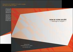 realiser depliant 2 volets  4 pages  texture contexture structure MLGI25650