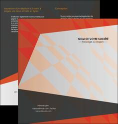 creation graphique en ligne depliant 2 volets  4 pages  texture contexture structure MLGI25652