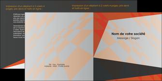 impression depliant 2 volets  4 pages  texture contexture structure MLGI25666