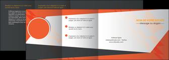 creer modele en ligne depliant 4 volets  8 pages  texture contexture structure MLGI25678