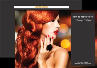 realiser flyers centre esthetique  coiffure coiffeur coiffeuse MIF25682