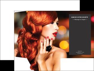 faire pochette a rabat centre esthetique  coiffure coiffeur coiffeuse MIF25684