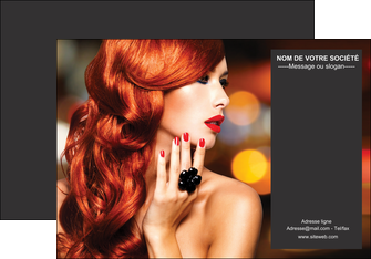 realiser affiche centre esthetique  coiffure coiffeur coiffeuse MIF25688