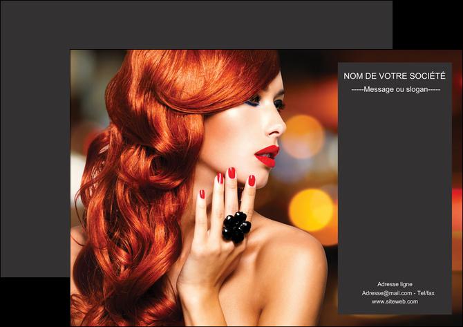 personnaliser modele de affiche centre esthetique  coiffure coiffeur coiffeuse MLGI25690