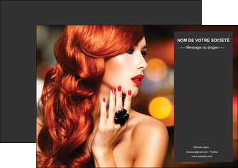 realiser affiche centre esthetique  coiffure coiffeur coiffeuse MIF25692