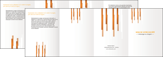 modele depliant 4 volets  8 pages  texture contexture structure MLIG25698