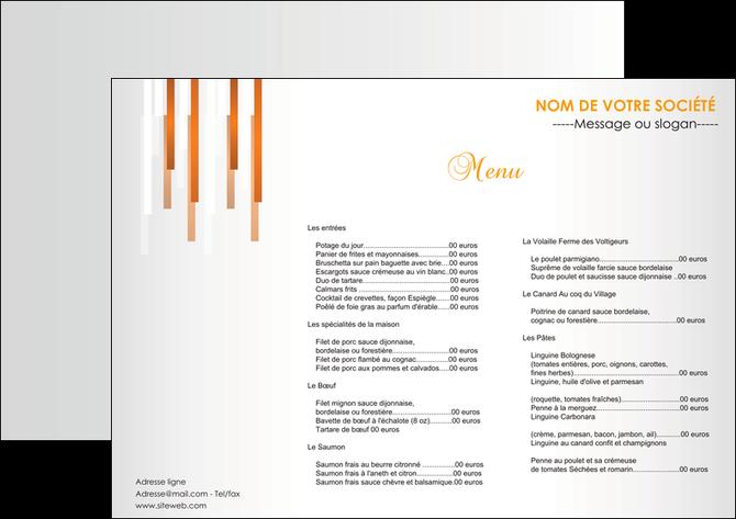 imprimer set de table bar et cafe et pub menu restaurant liste de menu set de table MLGI25700
