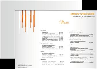 Impression Sets de table Bar & Café & Pub Menu devis d'imprimeur publicitaire professionnel Set de Table A3 - Paysage (42 x 29,7 cm)