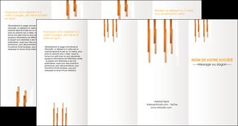 exemple depliant 4 volets  8 pages  texture contexture structure MLGI25728