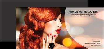 faire modele a imprimer flyers centre esthetique  coiffure coiffeur coiffeuse MIF25736