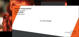 imprimer carte de correspondance centre esthetique  coiffure coiffeur coiffeuse MIF25740