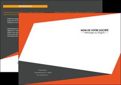 imprimerie depliant 2 volets  4 pages  texture contexture structure MIF25744