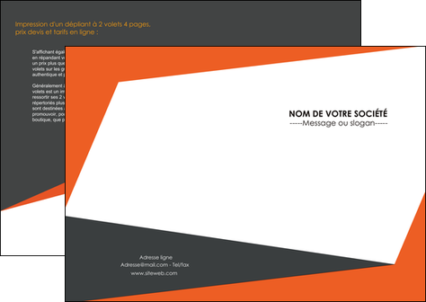 personnaliser modele de depliant 2 volets  4 pages  texture contexture structure MIF25746