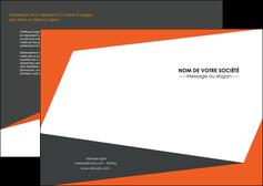 personnaliser modele de depliant 2 volets  4 pages  texture contexture structure MLIG25746