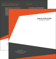 personnaliser modele de depliant 2 volets  4 pages  texture contexture structure MIS25748