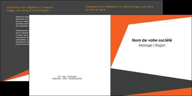 impression depliant 2 volets  4 pages  texture contexture structure MLGI25762