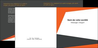 impression depliant 2 volets  4 pages  texture contexture structure MIF25762