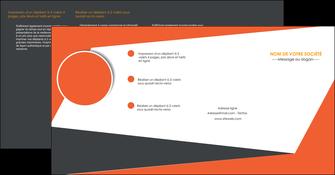 imprimerie depliant 4 volets  8 pages  texture contexture structure MLIG25772
